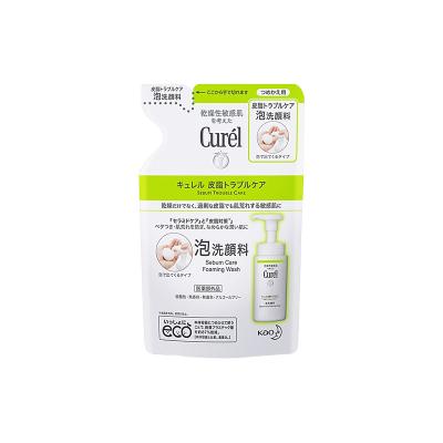 CUREL珂潤控油泡沫潔面替換裝 綠色包裝130ML