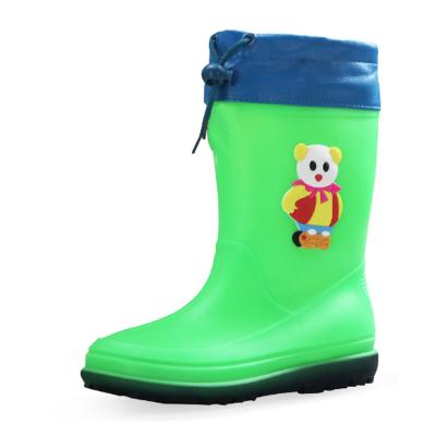 DOUBLESTAR雙星DSA901 雙星可愛甜美單雨靴兒童雨鞋PVC冬季男女加棉中筒防滑雨靴可拆卸棉套女士可愛防水雨鞋