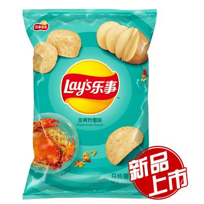 乐事 金黄炒蟹味薯片 75克/袋