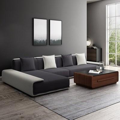 楚梵 沙发 北欧宜家风格布艺沙发 客厅沙发 北欧沙发 现代简约布沙发L形转角大小户型沙发可拆洗沙发客厅组合