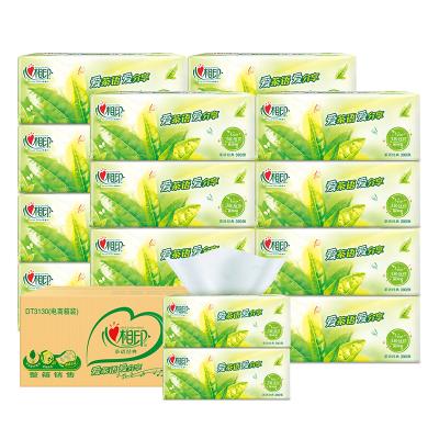 心相印 抽纸 茶语系列 3层130抽*18包(中规格) 软抽纸巾