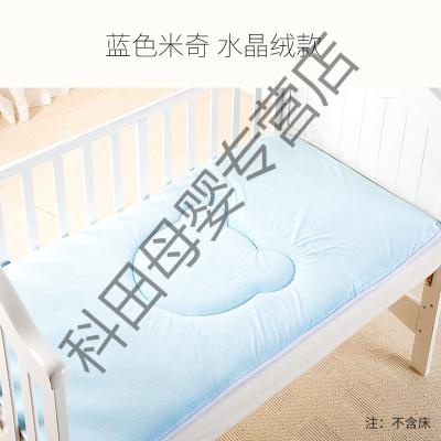 幼儿园床垫婴儿床垫被午睡儿童床褥子宝宝铺被四季通用垫子应学乐 米奇款-蓝色 111*64