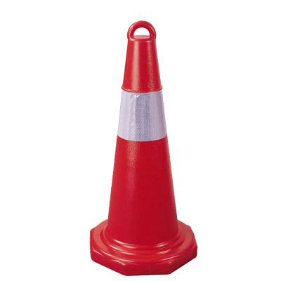 工霸 塑料反光路锥 路障锥 雪糕筒桶 交通锥桶 安全警示锥 70cm 可定制
