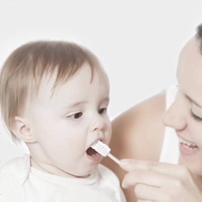 babycare嬰兒口腔清潔器36支新生兒乳牙軟毛牙刷幼兒寶寶洗舌苔紗布