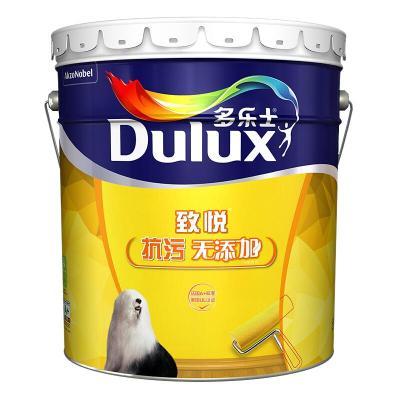 多樂士(Dulux)致悅抗污無添加內墻乳膠漆 油漆涂料 墻面漆A745