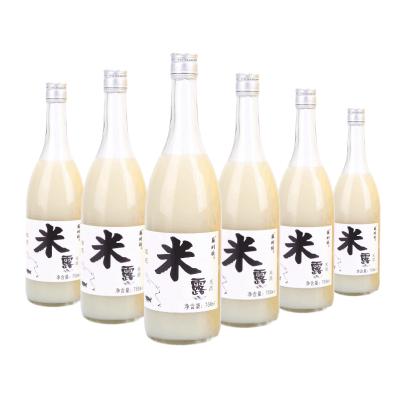 蘇州橋桂花米露 米酒 糯米酒 甜酒 男女士酒 低度酒 0.5度米酒 發酵糯米酒 桂花米露750ml 整箱6瓶裝