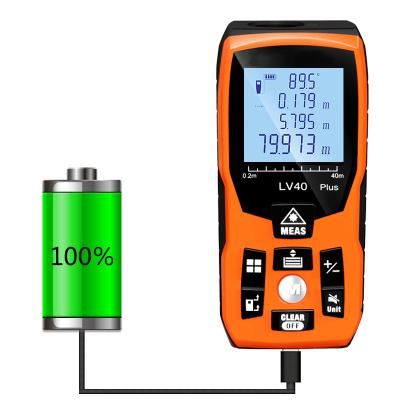 激光測距儀高精度紅外線測量儀手持距離量房儀法耐(FANAI)激光尺電子尺 【電子水平+語音充電款】100米