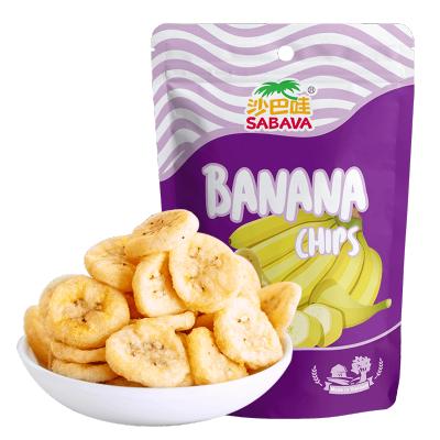 越南進口 沙巴哇(Sabava)芭蕉干 休閑零食進口零食蔬果干香蕉片香蕉干果蔬干 100g/袋
