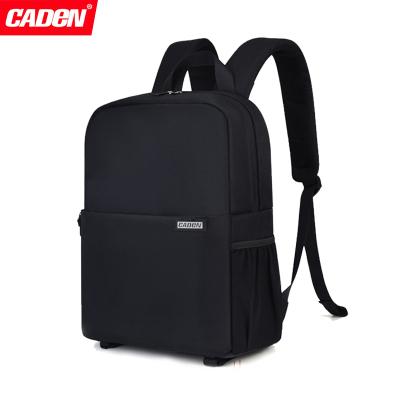 卡登(Caden)L4 單反相機包超輕便攜戶外旅行雙肩攝影包佳能尼康索尼多功能防水防盜數碼背包多用途男女休閑筆記本電腦包