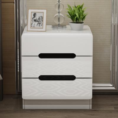 床头柜简约现代简易床边收纳小柜子特价储物柜古达北欧卧室小型床边柜