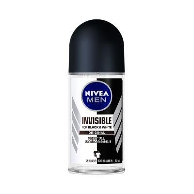 妮维雅(NIVEA)男士黑白出众爽身走珠液50ml