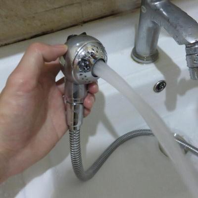 宝宝洗澡手持龙头外接淋浴喷头浴室易洗头花洒宠物洗澡花洒yz