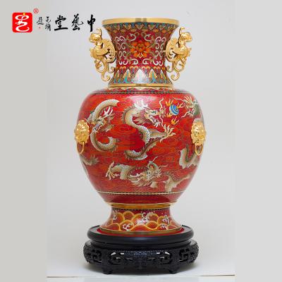 中藝盛嘉戴嘉林聯合國禮御制單位權威打造龍騰盛世轉yun尊 收藏品
