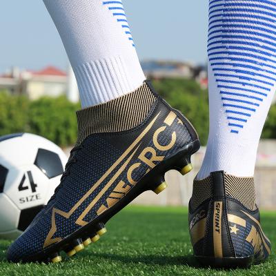 匡米葳(CONMEIVE)足球鞋運動鞋2020夏季足球鞋男女人造草地校園長釘短釘訓練鞋學生實戰球鞋I