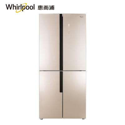 【準新機】Whirlpool/惠而浦 BCD-445WMGBW波爾卡金變頻風冷十字對開門多門電冰箱