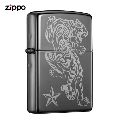zippo之寶打火機美國原裝ZIPPO防風煤油打火機獨行虎150-C-000001