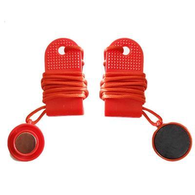 跑步機通用安全鎖鑰匙磁鐵扣安全開關啟動鑰匙跑步機啟停配件