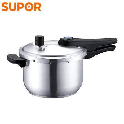 蘇泊爾(SUPOR)304不銹鋼藍眼高壓鍋 YW24S1 家用壓力鍋24cm煲湯飯煲壓力煲