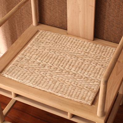 手工墊子編坐墊 閃電客地上榻榻米地墊 家居辦公室椅墊透氣無異味