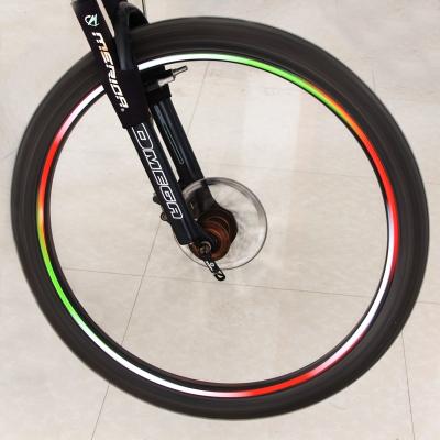 自行车轮胎反光贴死飞山地车轮反光贴车圈风火轮单车配件骑行装备