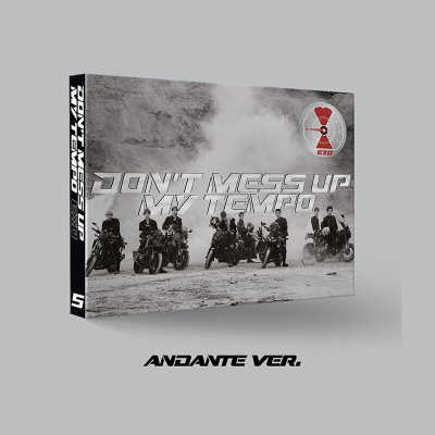 {现货}EXO专辑 正规5辑 DON'T MESS UP MY TEMPO CD+海报+小票+礼物 Allegro ve