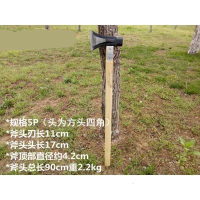 特價雙用加固八角錘斧 劈柴大斧頭 霸道斧 伐木斧大小斧子 消防斧 5p方頭2.1kg