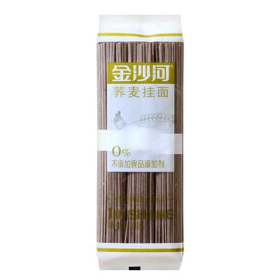 金沙河高含量荞麦 挂面 粗粮面条 方便 早餐 面条 汤面 拌面300g