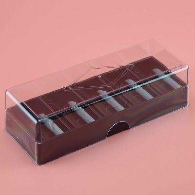 籌碼架 籌碼盤 透明水晶盒子 可裝100片籌碼 直徑40或43兩款 任選 40黑色帶蓋