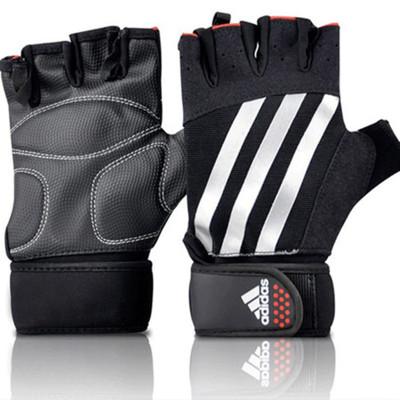 阿迪達斯adidas專業半指舉重手套健身運動手套專用ADGB-14213--5(原12341升級款)