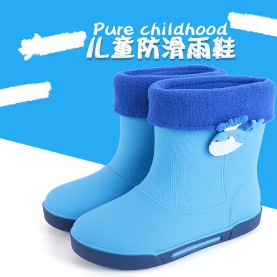 男童男孩雨鞋2-3-4-5-6-7-8-9岁女童女孩雨靴小学生小孩儿童水鞋 莎丞