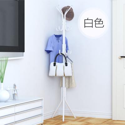 家時光 簡易鐵衣帽架掛衣架落地衣架臥室內衣帽架簡約現代室內衣帽架
