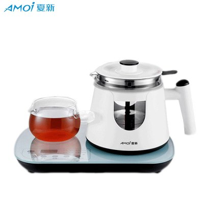 夏新(AMOI) 煮茶器黑茶普洱玻璃蒸茶壺多功能全自動觸摸款蒸汽煮茶壺養生壺 套餐1