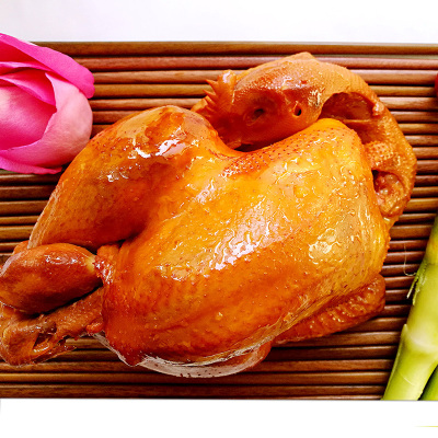 大红门 老北京熏鸡 550g 特色熏鸡 冷藏熟食 开袋即食 北京老字号