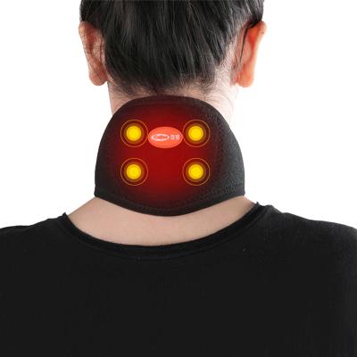 可孚遠紅外護頸帶負離子頸椎理療帶家用頸椎病自發熱磁石保暖 護具(器械)Cofoe