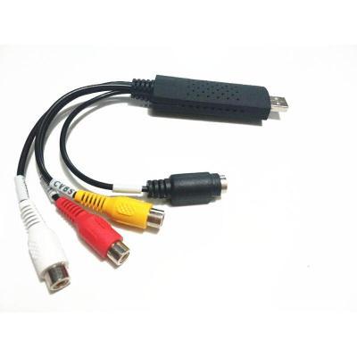 免驱USB视频采集卡高清笔记本机顶盒监控安卓手机otg航拍B超