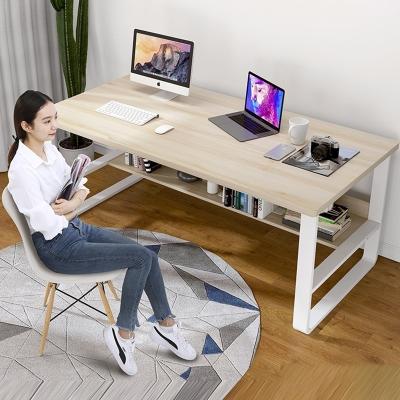 电脑桌简约台式办公桌家用学生简易书桌现代卧室写字桌古达单人小桌子