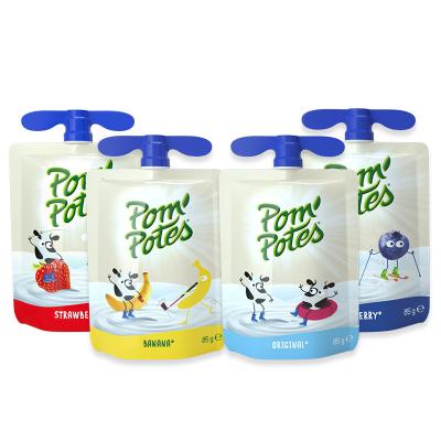法优乐 儿童酸奶 法国原装进口 宝宝常温辅食酸酸乳 原味/香蕉/蓝莓/草莓混合口味340g*4