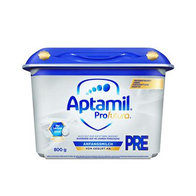 【匠心品質】海外Aptamil 德國愛他美 白金版HMO 安心罐 嬰幼兒配方奶粉 pre段(0~6個月)800g/罐