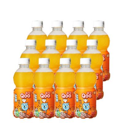 美汁源 MinuteMaid 酷兒 Qoo 橙汁 果汁飲料 300ml*12瓶 整箱裝 可口可樂公司出品