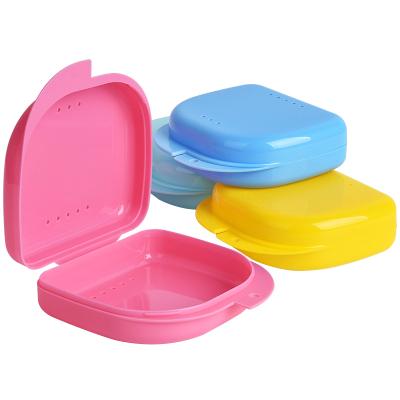 雅克菱 牙套盒子保持器盒子攜帶可愛隱形假牙盒正畸矯正隱適美牙套盒