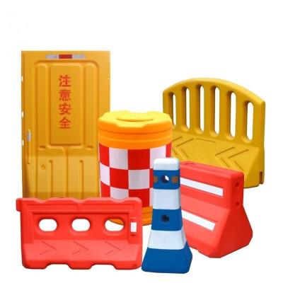 防撞桶_800x600塑料注水桶_道路三孔水马防撞桶1.8米围挡隔离墩市政护栏 防撞桶
