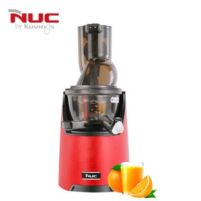 韩国NUC 原装进口原汁机NC-91220红色 品牌旗舰款CC 大口径 1L以下 按键式低速慢榨 家用多功能榨汁机果汁机