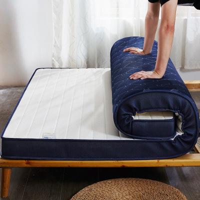 婉寇家紡 床墊泰國乳膠軟墊加厚雙面單人宿舍床褥子乳膠加記憶棉家用墊子榻榻米6.5cm/10cm厚度海綿墊BN