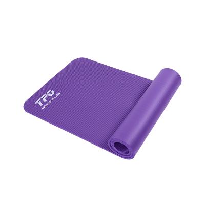 TFO 初學者防滑瑜伽墊加厚加寬健身墊子用品地墊家用(含背帶 網包)