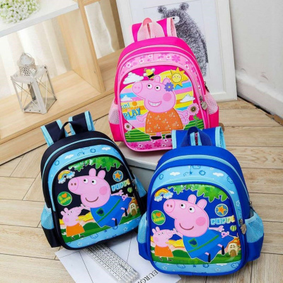 兒童書包幼兒園書包男女童卡通可愛小班男女孩小學生書包雙肩背包