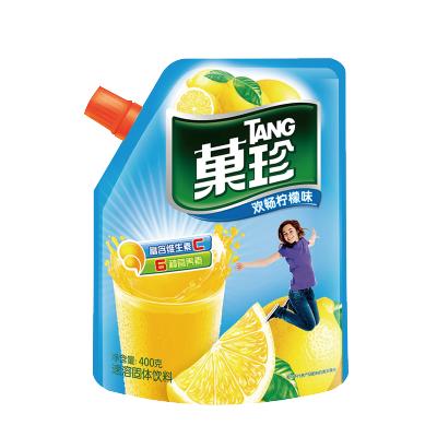 【領劵滿188-100】菓珍-壺嘴裝-歡暢檸檬-400g補充維生素C果汁粉沖調橙汁速溶飲料