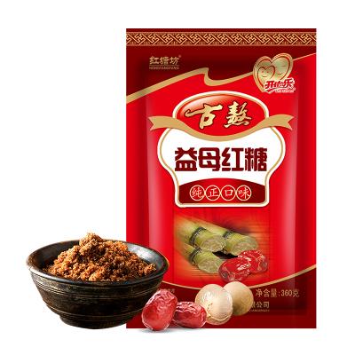 红塘坊益母红糖360g老姜汤古熬古法正宗农家手工老红塘土红糖姜汤食糖老姜茶