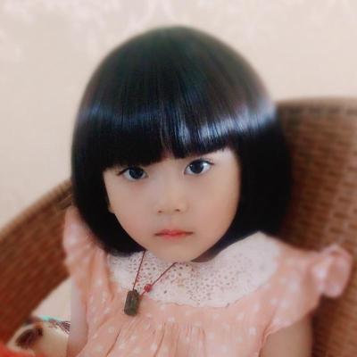 韓版兒童假發女寶寶短發女童嬰兒假發小孩假發公主假發套BOBO頭套