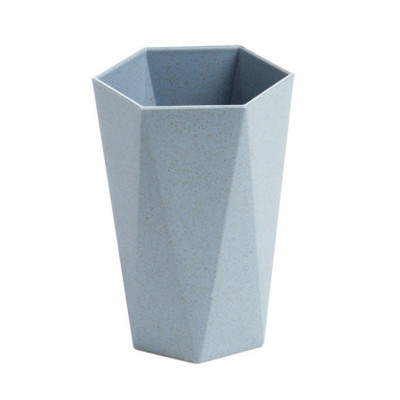 權夫人麥秸幾何菱形刷牙杯漱口杯喝水杯子 家用情侶牙刷杯洗漱杯牙缸