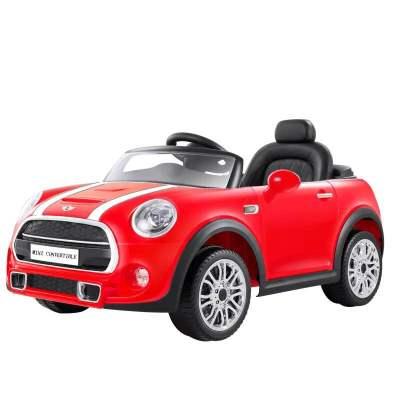 智樂堡寶馬mini小孩玩具汽車電動童車遙控車可坐人兒童四輪電動車